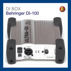 Lloguer DI BOX Behringer DI-100