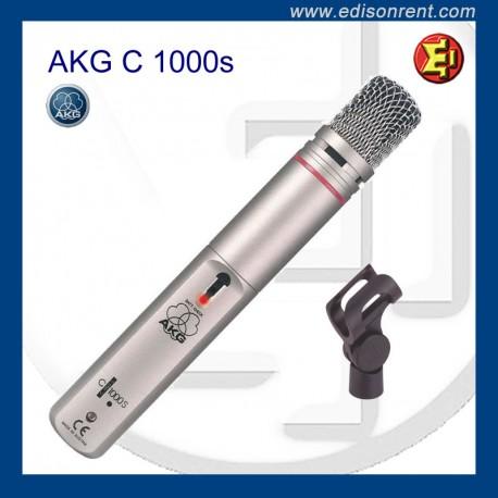 Alquiler Micrófono AKG C-1000s