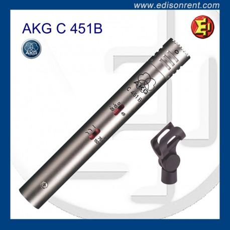 Alquiler AKG C-451B