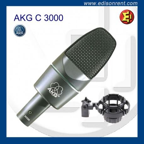 Alquiler Micrófono AKG C3000