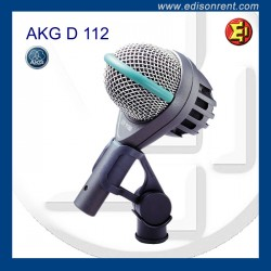 Alquiler Micrófono AKG D112