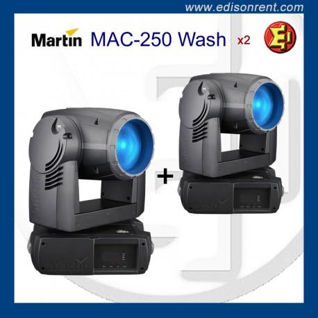 Alquiler Cabeza móvil Martin MAC250 Wash