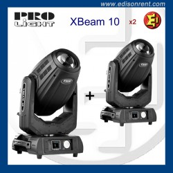 Alquiler cabezas móviles Pro Light XBEAM 10 alquiler