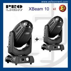Parella de caps mòbils XBEAM 10