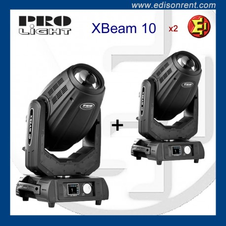 Lloguer caps mòbils Pro Light XBEAM 10 alquiler