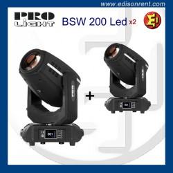 Lloguer caps mòbils Pro Light BSW 200 LED
