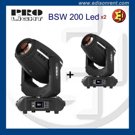Alquiler cabezas móviles Pro Light BSW 200 LED