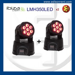 Alquiler Foco LED Moving Head FLASH 5in1