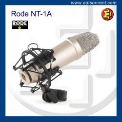 Lloguer Micròfon RODE NT-1A