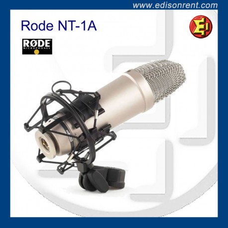 Alquiler Micrófono RODE NT-1A