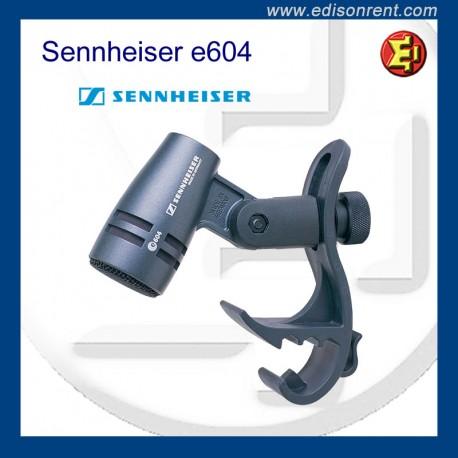 Alquiler Micrófono Senneheiser e604