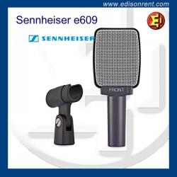 Alquiler Micrófono Senneheiser e609