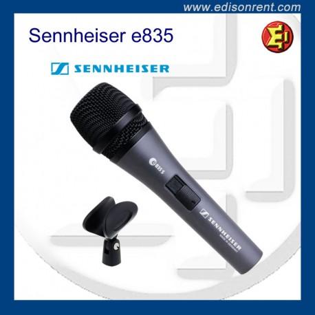 Alquiler Micrófono Sennheiser e835s
