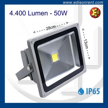 Alquiler Foco PANORAMA-LED 50W Blanco frio