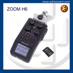 Alquiler ZOOM H6
