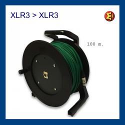 Lloguer cable senyal XLR 100