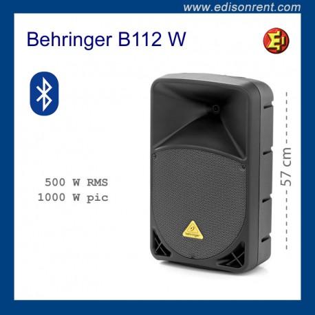 Alquiler Altavoz Behringer B112 W