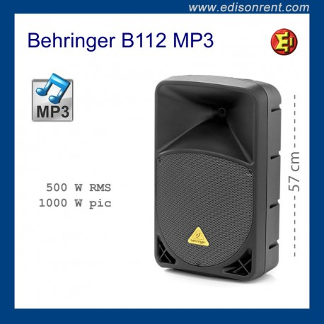 Alquiler Altavoz Behringer B112 MP3
