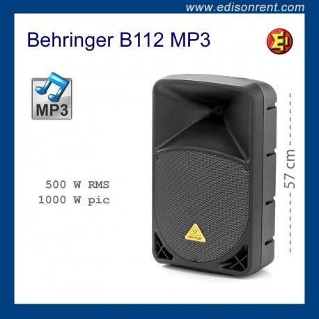 Lloguer Altaveu Behringer B112 MP3