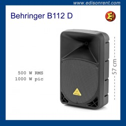 Alquiler Altavoz Behringer B112 D
