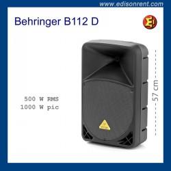 Bafle Behringer B112 D