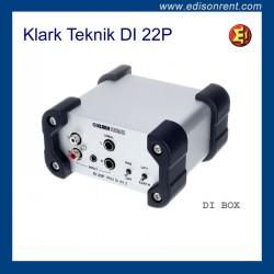 Alquiler DI BOX Klark Teknik DI 22P