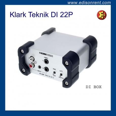 Lloguer DI BOX Klark Teknik DI 22P