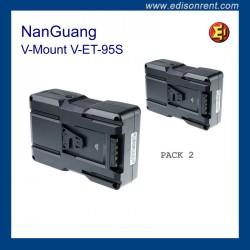 Batería NanGuang V-Mount V-ET-95S