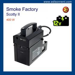 Alquiler máquina portátil de humo Smoke Factory Scotty II