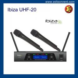 Lloguer microfon Ibiza UHF-20