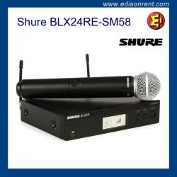 Mic Set - Shure BLX24RE-SM58