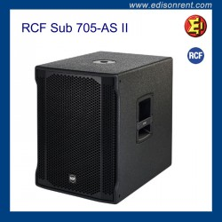 Alquiler Subwoofer RCF Sub 705-AS II