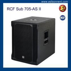 Lloguer Subwoofer RCF Sub 705-AS II