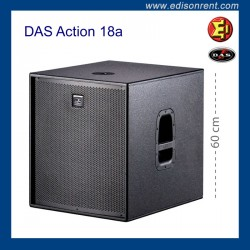 Subwoofer DAS Action 18a