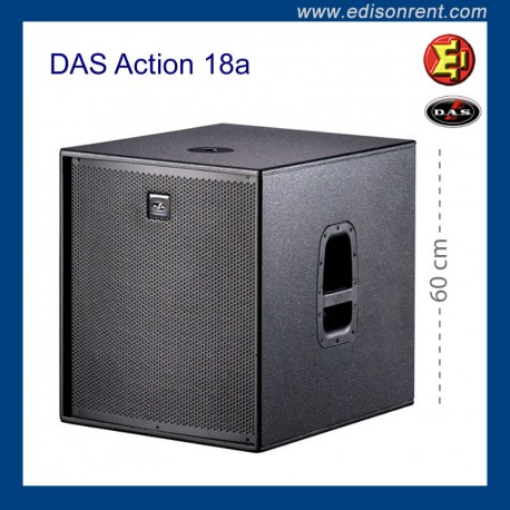 Alquiler Subwoofer DAS Action18a