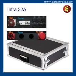 Infra Rack 32A - 6 salidas Shuko
