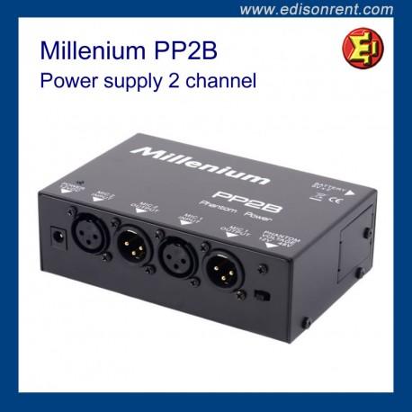 Power supply 2 channel Millenium PP2B