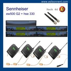 Pack Sennheiser G2 ew500 sk4