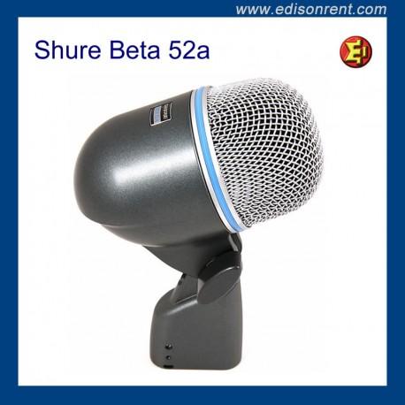 Alquiler micrófono Shure Beta 52a