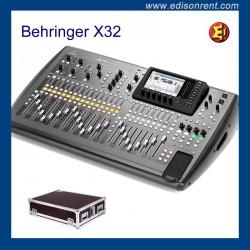 Alquiler Behringer X32