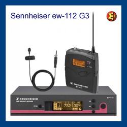 Set inalámbrico Sennheiser. ew112 G3