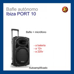 Bafle_IBIZA SOUND modelo_PORT10