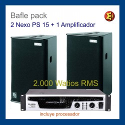 Bafle NEXO PS15 Pack2