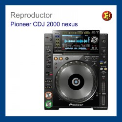 Reproductor Pioneer CDJ-2000 nexus