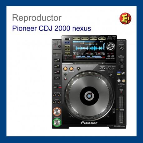 Alquiler Pioneer CDJ-2000 nexus