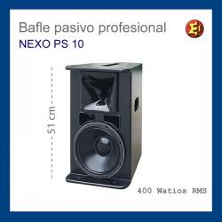 Alquiler Bafle NEXO mod. PS-10