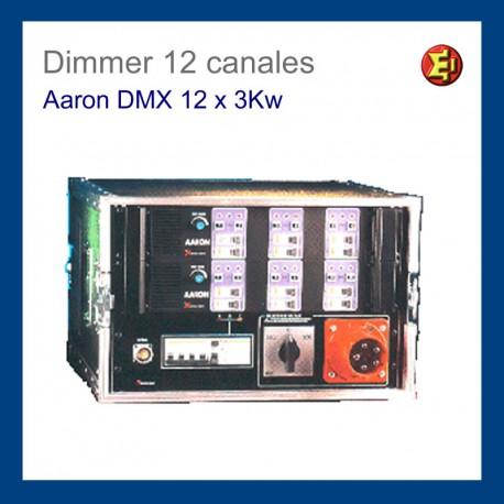 Alquiler Dimmer Aaron DMX 6 x 3 Kw