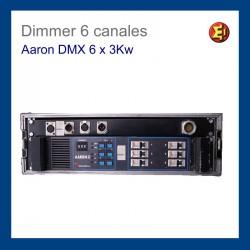 Dimmer Aaron DMX 6 x 3 Kw